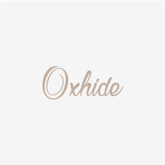 Oxhide Leather Cross Braided Bracelet Black